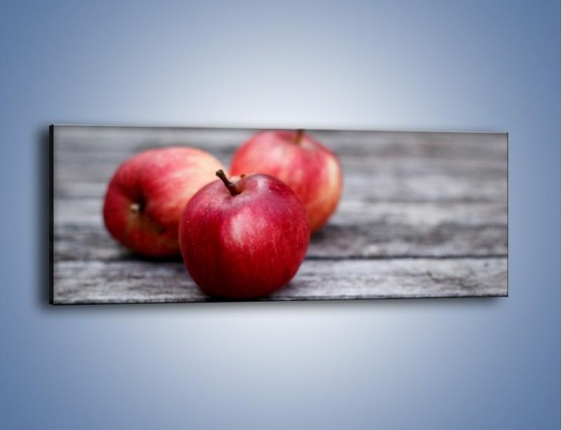 Obraz na płótnie – Jabłkowe zdrowie – jednoczęściowy panoramiczny JN296