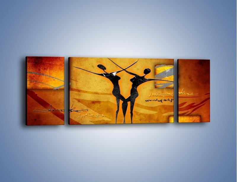 Obraz na płótnie – Dotyk w tańcu – trzyczęściowy GR633W5