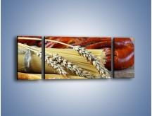 Obraz na płótnie – Chleb pszenno-kukurydziany – trzyczęściowy JN090W5