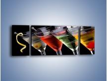 Obraz na płótnie – Alkoholowa zabawa do rana – trzyczęściowy JN100W5