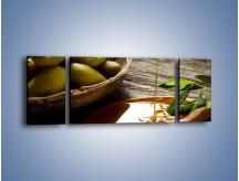 Obraz na płótnie – Bogactwa wydobyte z oliwek – trzyczęściowy JN270W5