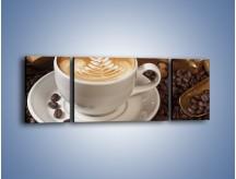 Obraz na płótnie – Czas na kawę – trzyczęściowy JN353W5