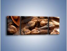 Obraz na płótnie – Dodatki idealne do kawy – trzyczęściowy JN379W5