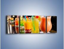 Obraz na płótnie – Barmańskie drinki – trzyczęściowy JN433W5