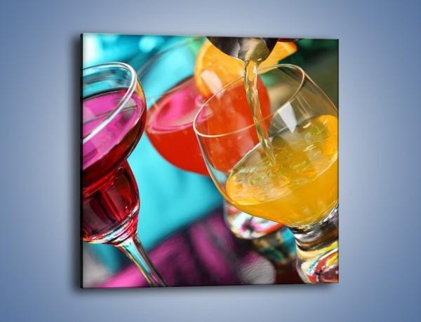 Obraz na płótnie – Świeże drinki – jednoczęściowy kwadratowy JN043