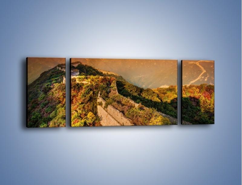 Obraz na płótnie – Zarośnięty krety most – trzyczęściowy KN1020W5
