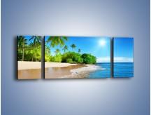 Obraz na płótnie – Bajeczne wakacyjne wspomnienia – trzyczęściowy KN1110AW5