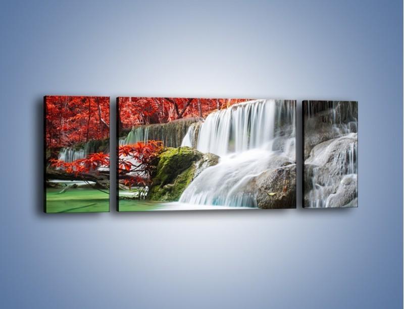 Obraz na płótnie – Zachwycić się naturą – trzyczęściowy KN1250AW5