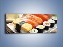 Obraz na płótnie – Azjatyckie posiłki – jednoczęściowy panoramiczny JN355