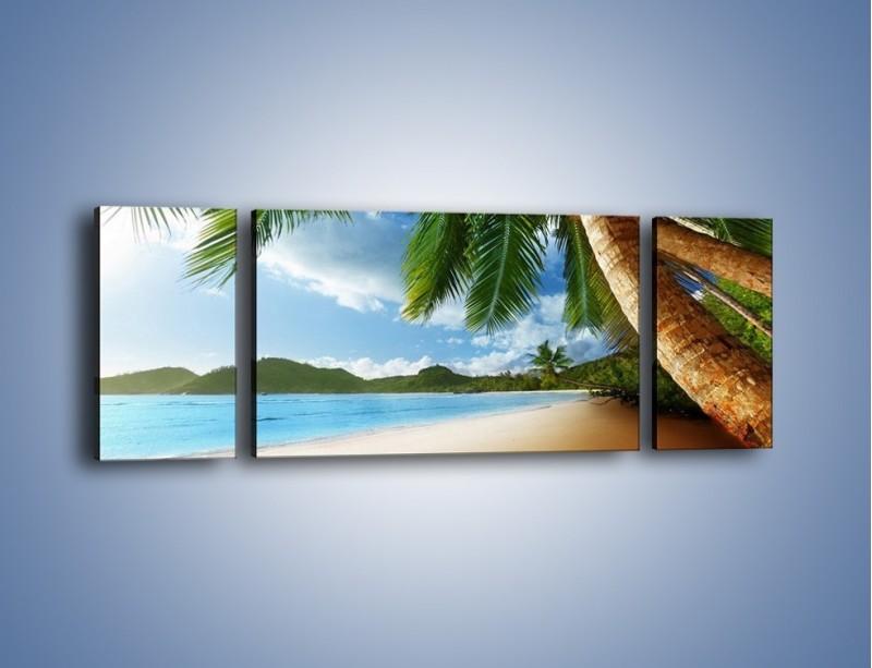 Obraz na płótnie – Idealne miejsce na ziemi – trzyczęściowy KN847W5