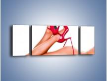 Obraz na płótnie – Bardzo kobiece dodatki – trzyczęściowy L162W5