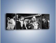 Obraz na płótnie – Czas na bilard – trzyczęściowy L234W5