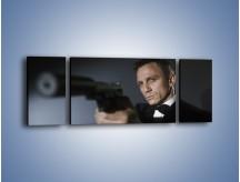 Obraz na płótnie – Bond. james bond – trzyczęściowy L239W5
