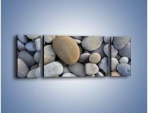 Obraz na płótnie – Kamienie duże i małe – trzyczęściowy O006W5