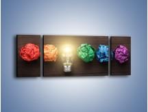 Obraz na płótnie – Ekologia w kolorze – trzyczęściowy O017W5