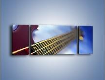 Obraz na płótnie – Gitara z bliska – trzyczęściowy O088W5