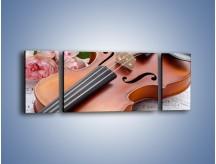 Obraz na płótnie – Miłość wyznana muzyką – trzyczęściowy O098W5