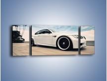 Obraz na płótnie – BMW M3 Strasse Forged Wheels – trzyczęściowy TM094W5
