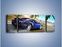 Obraz na płótnie – Bugatti Veyron – trzyczęściowy TM123W5