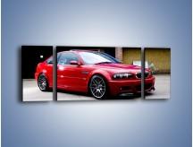 Obraz na płótnie – BMW M3 E46 Coupe – trzyczęściowy TM125W5