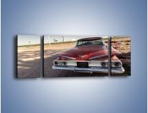 Obraz na płótnie – Amerykański samochód z połowy XX wieku – trzyczęściowy TM158W5