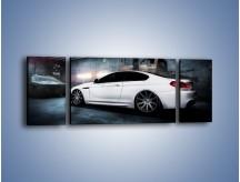 Obraz na płótnie – BMW M6 F13 w garażu – trzyczęściowy TM165W5