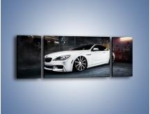 Obraz na płótnie – BMW M6 F13 Vossen Wheels – trzyczęściowy TM169W5