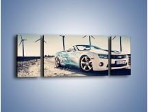 Obraz na płótnie – Chevrolet Camaro Cabrio – trzyczęściowy TM173W5