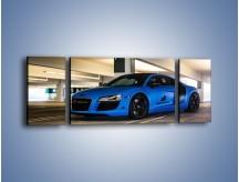 Obraz na płótnie – Audi R8 – trzyczęściowy TM180W5