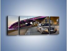Obraz na płótnie – Audi A8 – trzyczęściowy TM188W5