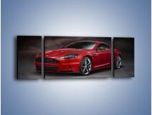 Obraz na płótnie – Aston Martin DBS Carbon Edition – trzyczęściowy TM242W5