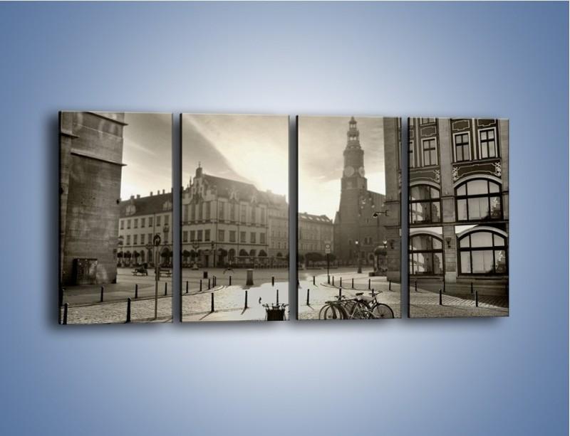 Obraz na płótnie – Rynek Starego Miasta – czteroczęściowy AM136W1