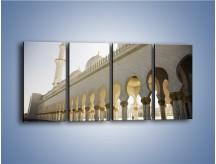 Obraz na płótnie – Bliskowschodnia architektura – czteroczęściowy AM177W1