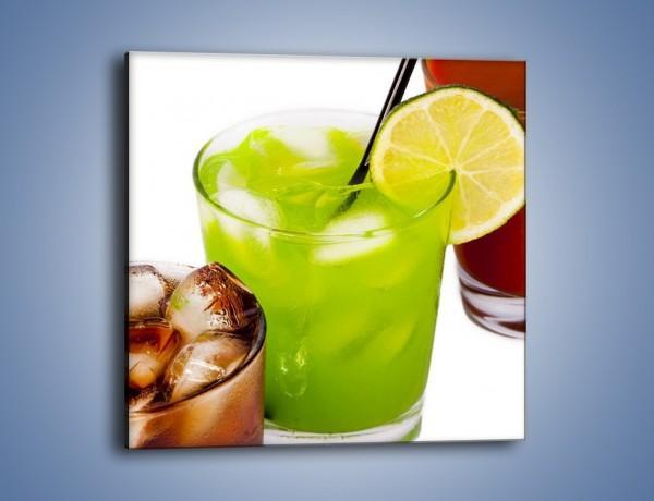 Obraz na płótnie – Kwaśno-słodkie drinki – jednoczęściowy kwadratowy JN093