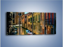 Obraz na płótnie – Cały urok Wenecji w jednym kadrze – czteroczęściowy AM371W1
