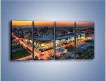 Obraz na płótnie – Centrum kongresowe CNCC w Chinach – czteroczęściowy AM575W1