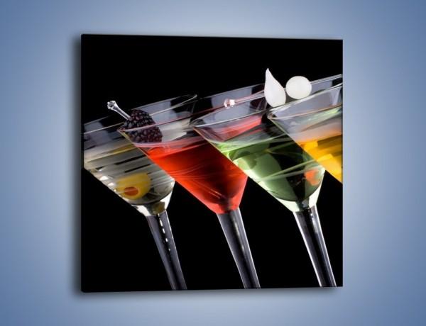 Obraz na płótnie – Alkoholowa zabawa do rana – jednoczęściowy kwadratowy JN100