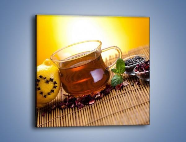 Obraz na płótnie – Herbaciane zdrowie pełne witamin – jednoczęściowy kwadratowy JN106