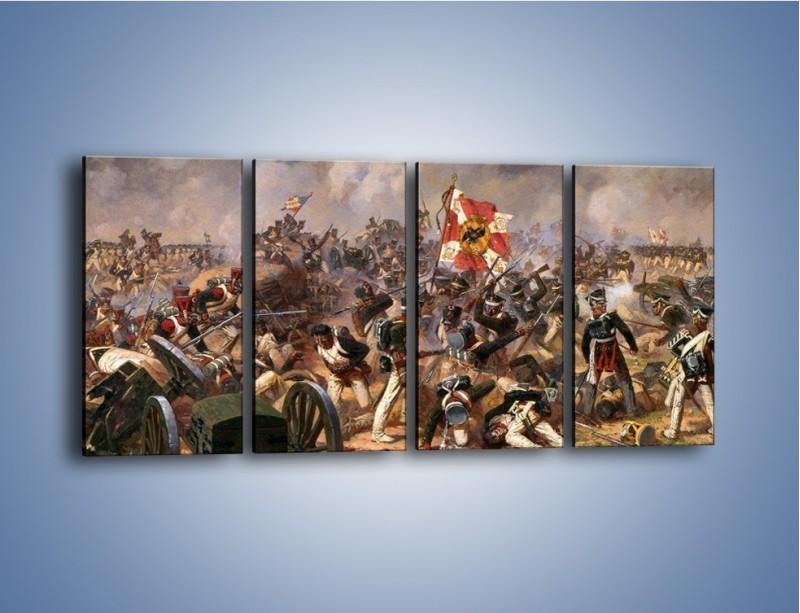 Obraz na płótnie – Wojna i jej skutki – czteroczęściowy GR133W1