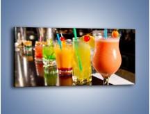 Obraz na płótnie – Barmańskie drinki – jednoczęściowy panoramiczny JN433