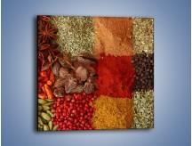Obraz na płótnie – Afrykańskie przyprawy – jednoczęściowy kwadratowy JN109