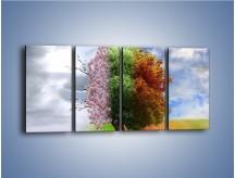 Obraz na płótnie – Cztery pory roku – czteroczęściowy GR333W1