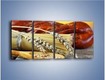 Obraz na płótnie – Chleb pszenno-kukurydziany – czteroczęściowy JN090W1