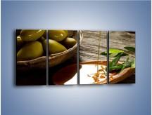Obraz na płótnie – Bogactwa wydobyte z oliwek – czteroczęściowy JN270W1
