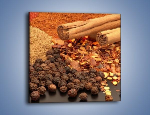 Obraz na płótnie – Korzenno-cynamonowe smaki – jednoczęściowy kwadratowy JN133