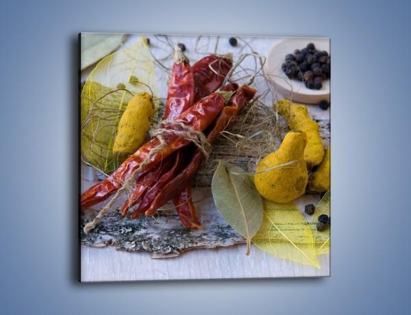Obraz na płótnie – Pikantno-słodkie smaki – jednoczęściowy kwadratowy JN135