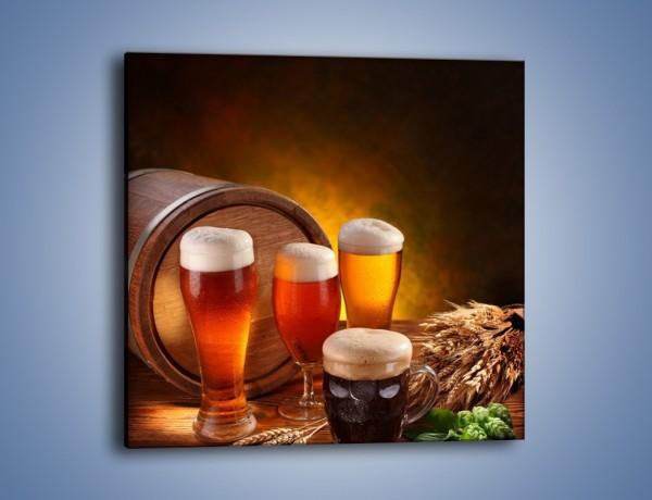 Obraz na płótnie – Piwo słodko-gorzkie – jednoczęściowy kwadratowy JN151