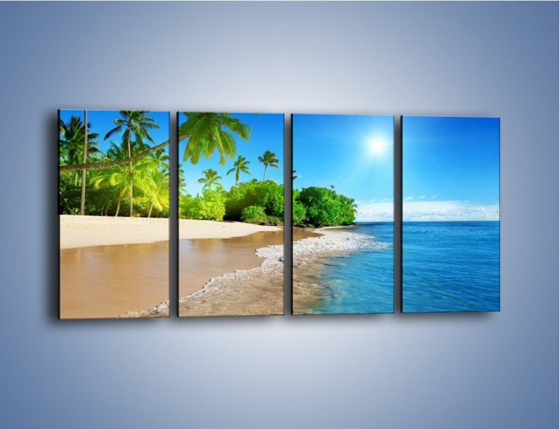 Obraz na płótnie – Bajeczne wakacyjne wspomnienia – czteroczęściowy KN1110AW1