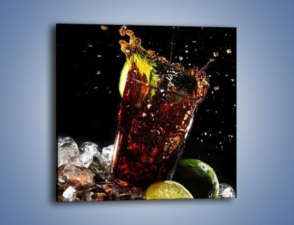 Obraz na płótnie – Dobry męski drink – jednoczęściowy kwadratowy JN174