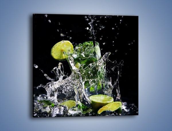 Obraz na płótnie – Lekki kobiecy drink – jednoczęściowy kwadratowy JN175
